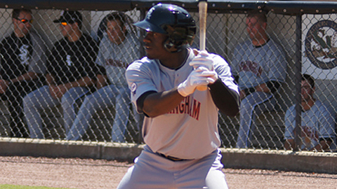 Jared Mitchell is batting .310 with a Southern League-best six triples.