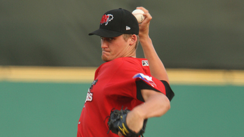 Barret Loux ranks 10th in the Texas League with a 3.54 ERA.