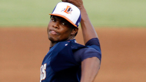 Alex Colome was promoted after going 8-3 for Double-A Montgomery.
