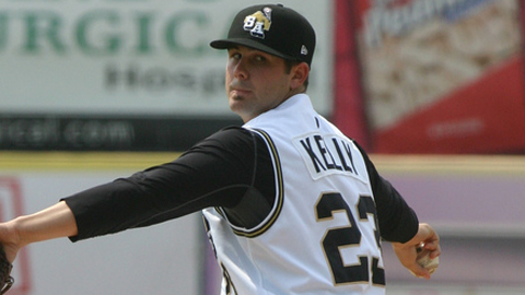Casey Kelly has a 2.42 ERA across three levels this season.